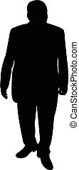 a man body silhouette