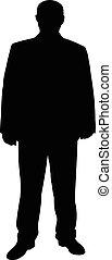 a man silhouette