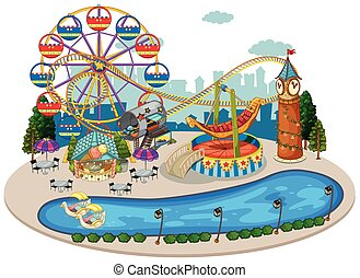A Map of Fun Fair