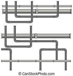 A Map of Water Pipe Systems