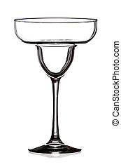 Margarita Glass - A Margarita Glass Outlined in Black...