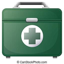 A medical bag