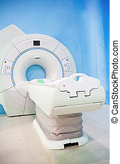 A medical equipment CAT scan machine
