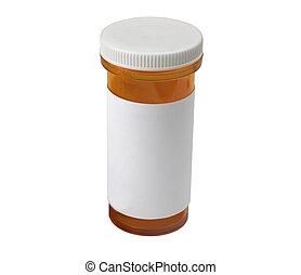 medical pill bottle