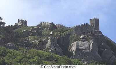 A Medieval Castle On Hill