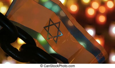 A memorial ceremony dedicated to the Holocaust. - Israel...