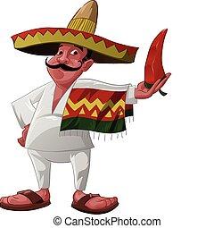 a, mexicano, e, a, jalapeno