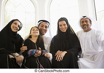 A Middle Eastern family