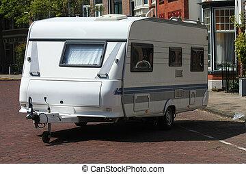 tour caravan - A middle size tour caravan