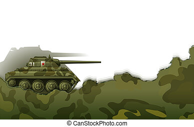a, militär, cistern