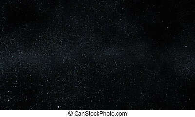 A Million Stars - Flight among the stars which turn into the...