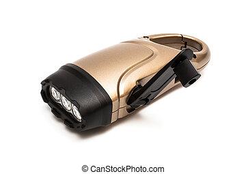 a modern flashlight