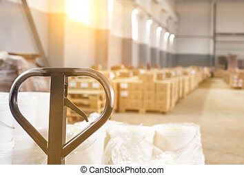 A modern production warehouse for storage, warehousing and stock concentration. Provision of logistics services and completing the required range of goods in accordance with the order of consumers