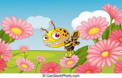A monster bee