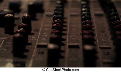 A more close-up equalizer or mixer of djs traktor - A more...