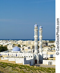 A mosque in Sur, Sultanate of Oman