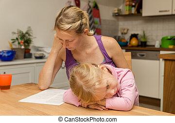 a mother disregard her daughter
