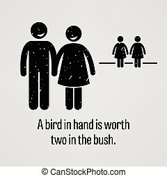A Bird in Hand is Worth Two in the