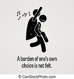 A Burden of One Own Choice is Not F