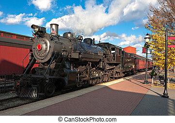 a, motor vapor, trem