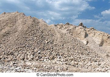 mound of gravel