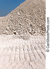 mound of gravel