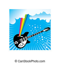 A music vector background