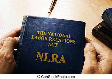 a, nacional, trabalho, relações, ato, (nlra), concept.