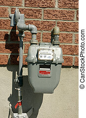 A Natural Gas Meter