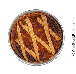 Neapolitan Pastiera - A Neapolitan Pastiera: Wheat Grain Pie