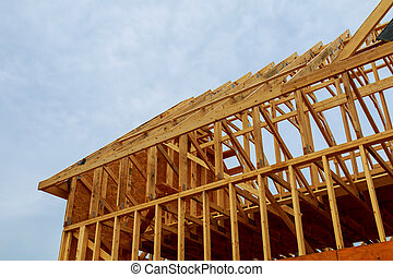 a, neu , stock, gebaut, daheim, bau