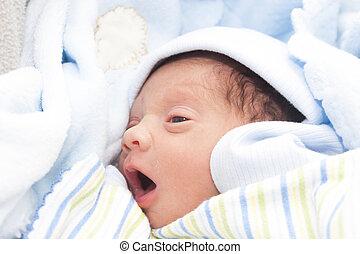 A New Born Baby Boy