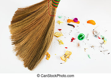 new broom sweeping