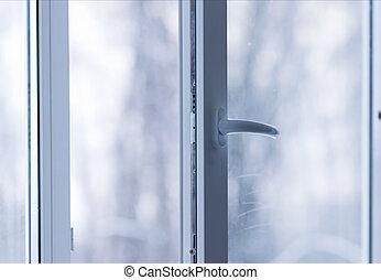 plastic window open - A new modern plastic window open