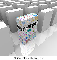 A New You Self Improvement in Box for Instant Success - A...