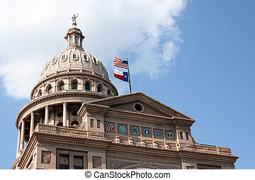 State Capitol Building in downtown Austin, Texas - A nice ...