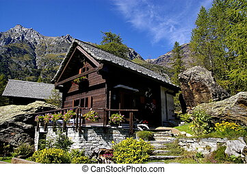 chalet - a nice view of a chalet