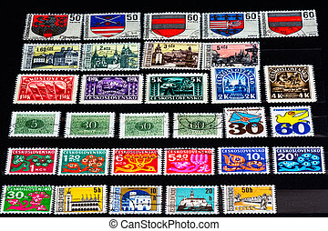 a nice view of Ceskoslovensko stamp, when Czech and Slovak Republic was together.