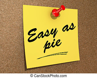 Easy As Pie