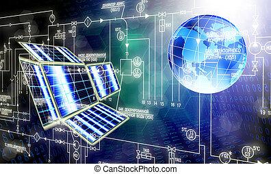 a, novo, conexão, tecnologia