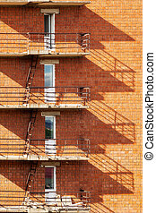 a number of balconies