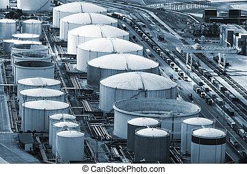 a oil storage