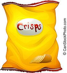 A pack of crisps