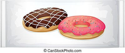 A pack of doughnuts