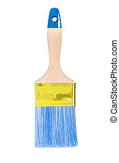 a paintbrush isolated