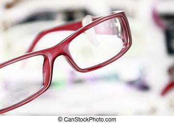 eyeglasses - A pair of modern medical eyeglasses