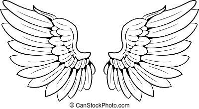 wings - a pair of wings