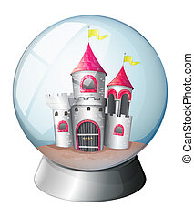 A palace inside a dome