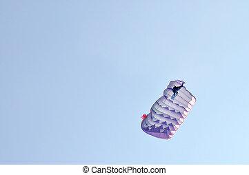 A parachute