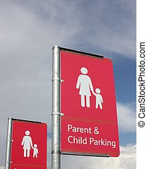 Parent & child parking